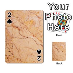 Stone Floor Marble Playing Cards 54 Designs