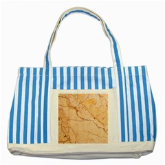 Stone Floor Marble Striped Blue Tote Bag  by essentialimage