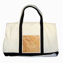 Stone Floor Marble Two Tone Tote Bag  by essentialimage