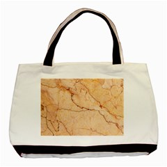 Stone Floor Marble Basic Tote Bag (two Sides)  by essentialimage