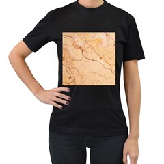 Stone Floor Marble Women s T Shirt (black) by essentialimage
