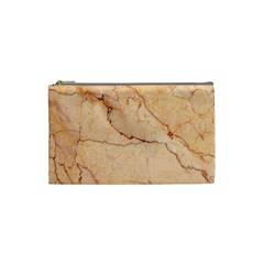 Stone Floor Marble Cosmetic Bag (small)  by essentialimage