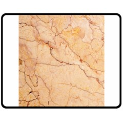 Stone Floor Marble Fleece Blanket (medium)  by essentialimage