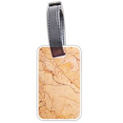 Stone Floor Marble Luggage Tags (one Side)  by essentialimage