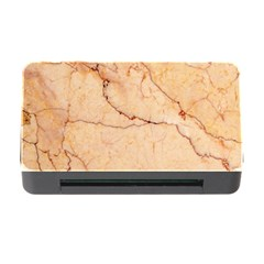 Stone Floor Marble Memory Card Reader With Cf by essentialimage