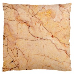 Stone Floor Marble Large Cushion Cases (one Side)  by essentialimage