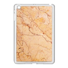 Stone Floor Marble Apple Ipad Mini Case (white) by essentialimage