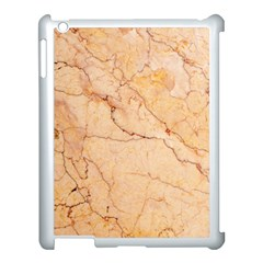 Stone Floor Marble Apple Ipad 3/4 Case (white) by essentialimage
