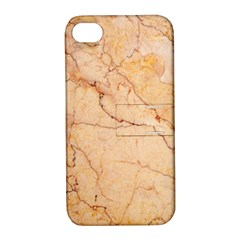 Stone Floor Marble Apple Iphone 4/4s Hardshell Case With Stand by essentialimage