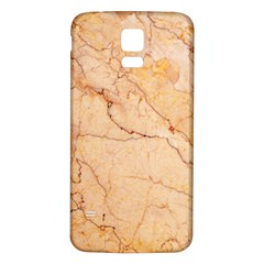 Stone Floor Marble Samsung Galaxy S5 Back Case (white) by essentialimage