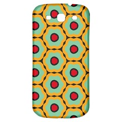 Floral Patternsamsung Galaxy S3 S Iii Classic Hardshell Back Case by LalyLauraFLM