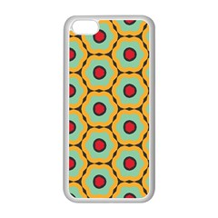Floral Pattern			apple Iphone 5c Seamless Case (white) by LalyLauraFLM