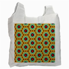 Floral Pattern Recycle Bag by LalyLauraFLM
