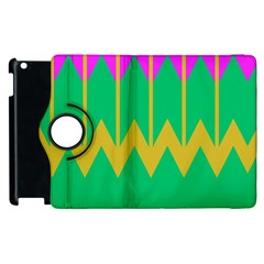 Chevrons			apple Ipad 3/4 Flip 360 Case by LalyLauraFLM