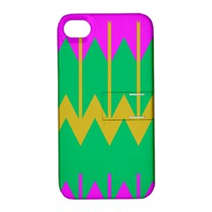 Chevrons			apple Iphone 4/4s Hardshell Case With Stand by LalyLauraFLM