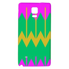 Chevrons			samsung Note 4 Hardshell Back Case by LalyLauraFLM