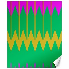 Chevrons 			canvas 16  X 20  by LalyLauraFLM