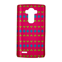 Hearts And Rhombus Pattern			lg G4 Hardshell Case by LalyLauraFLM
