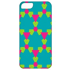 Triangles Honeycombs And Other Shapes Patternapple Iphone 5 Classic Hardshell Case by LalyLauraFLM