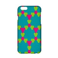 Triangles Honeycombs And Other Shapes Pattern			apple Iphone 6/6s Hardshell Case by LalyLauraFLM