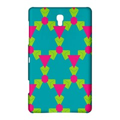 Triangles Honeycombs And Other Shapes Patternsamsung Galaxy Tab S (8 4 ) Hardshell Case by LalyLauraFLM