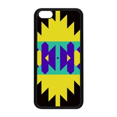 Tribal Design			apple Iphone 5c Seamless Case (black) by LalyLauraFLM