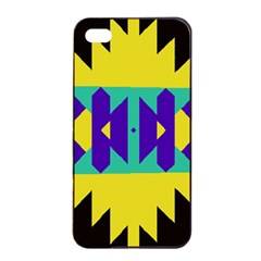 Tribal Design			apple Iphone 4/4s Seamless Case (black) by LalyLauraFLM