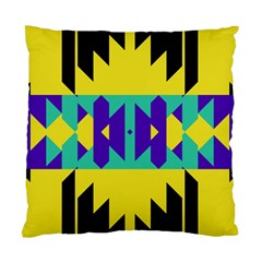 Tribal Design 	standard Cushion Case (two Sides) by LalyLauraFLM