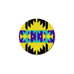 Tribal Design 			golf Ball Marker (4 Pack) by LalyLauraFLM