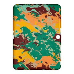 Texture in retro colors			Samsung Galaxy Tab 4 (10.1 ) Hardshell Case by LalyLauraFLM