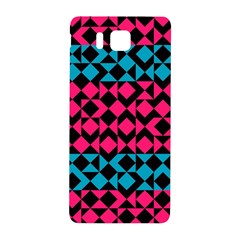 Rhombus And Triangles			samsung Galaxy Alpha Hardshell Back Case by LalyLauraFLM