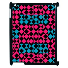 Rhombus And Triangles			apple Ipad 2 Case (black) by LalyLauraFLM
