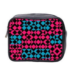 Rhombus And Trianglesmini Toiletries Bag (two Sides) by LalyLauraFLM