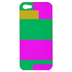Rectangles And Other Shapesapple Iphone 5 Hardshell Case by LalyLauraFLM