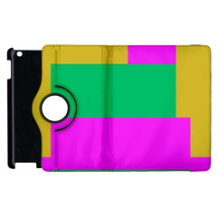 Rectangles And Other Shapes			apple Ipad 2 Flip 360 Case by LalyLauraFLM