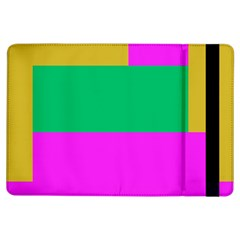 Rectangles And Other Shapes			apple Ipad Air Flip Case by LalyLauraFLM