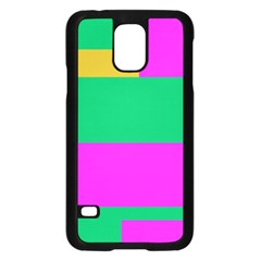 Rectangles And Other Shapessamsung Galaxy S5 Case (black) by LalyLauraFLM