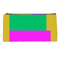 Rectangles And Other Shapes 	pencil Case by LalyLauraFLM