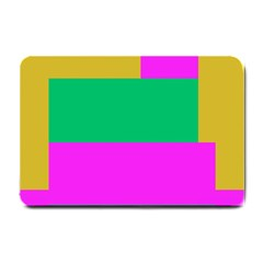 Rectangles And Other Shapes 			small Doormat by LalyLauraFLM