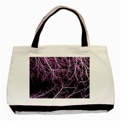 Purple Twigs Basic Tote Bag (two Sides)  by timelessartoncanvas