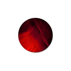 Red Abstract Golf Ball Marker by timelessartoncanvas