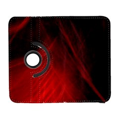 Red Abstract Samsung Galaxy S  Iii Flip 360 Case by timelessartoncanvas