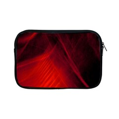 Red Abstract Apple Ipad Mini Zipper Cases by timelessartoncanvas