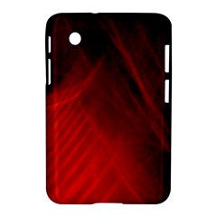 Red Abstract Samsung Galaxy Tab 2 (7 ) P3100 Hardshell Case  by timelessartoncanvas