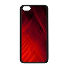 Red Abstract Apple Iphone 5c Seamless Case (black) by timelessartoncanvas