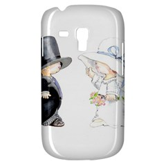 Little Bride And Groom Samsung Galaxy S3 Mini I8190 Hardshell Case by Weddings