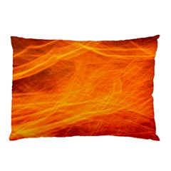 Orange Wonder Pillow Cases (two Sides) by timelessartoncanvas