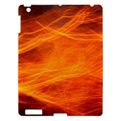 Orange Wonder Apple Ipad 3/4 Hardshell Case by timelessartoncanvas