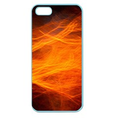 Orange Wonder Apple Seamless Iphone 5 Case (color) by timelessartoncanvas