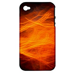 Orange Wonder Apple Iphone 4/4s Hardshell Case (pc+silicone) by timelessartoncanvas